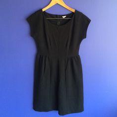 J. Crew black dress J. Crew black midi dress. Pairs well with a button up underneath. J. Crew Dresses Midi