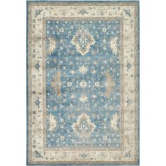 You'll love the Salisbury Light Blue Area Rug at Joss & Main - With Great Deals on all products and Free Shipping on most stuff, even the big stuff.