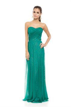 Vestido Longo TQC Tule Verde - roupas-festas-vestido-longo-tqc-tule-verde Iorane