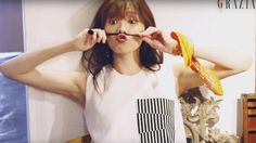 """Lee Sung Kyung, who is currently playing the character of Seo Woo in """"Doctors"""" shows off her sense of humor in the June issue of Grazia. I'm loving her portrayal of Seo Woo, she& Kim Bok Joo Lee Sung Kyung, Doctor Shows, Grazia Magazine, Do Bong Soon, Weightlifting Fairy Kim Bok Joo, Joo Hyuk, Korean Model, Korean Actors, Asian Beauty"""