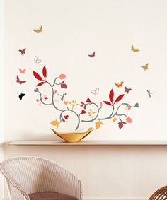 Look what I found on #zulily! Poppy Blossom Wall Decal Set #zulilyfinds