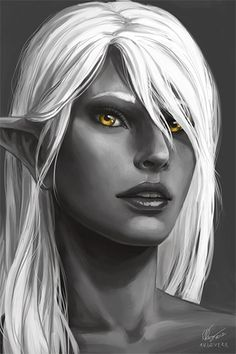 drow priestess of eilistraee - Google Search