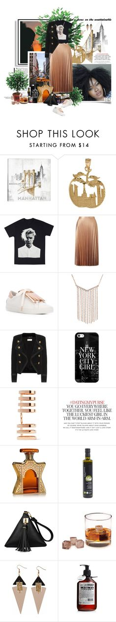 """""""The Unattainable... New York City Girl"""" by dixiejos ❤ liked on Polyvore featuring iCanvas, Therapy, Miss Selfridge, MICHAEL Michael Kors, Yves Saint Laurent, Casetify, Repossi, Kate Spade, Bond No. 9 and L:A Bruket"""