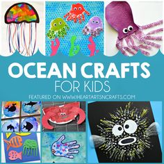 27 Ocean Crafts For Kids