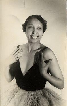 Joséphine Baker, 1949.