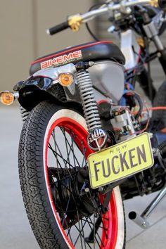 The Postie Bike of Death - Fucken!