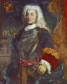 Blas de Lezo, was one of the greatest commanders and strategists in the history of the Spanish Navy. He is best remembered for his defensive tactis at the Battle of Cartagena against the Bristish navy. Lezo lost his left leg in the Battle of Velez Málaga, the defense of Toulon cost him his left eye. The defeat of the British invasion assured the preservation of the Spanish Empire in America. Lezo suffering from a wound died at Cartagena shortly after the victory.