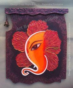 Shiva Art, Ganesha Art, Krishna Art, Hindu Art, Rangoli Designs Flower, Rangoli Patterns, Acrylic Painting Canvas, Canvas Art, Poster Rangoli