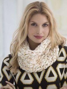 All That Glitters Crochet Cowl