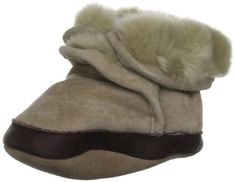 Robeez Soft Soles Cozy Boot (Infant/Toddler) Robeez. $23.61. Suede sole. Recommended by the American Podiatry Medical Association for healthy foot development. Skid resistant, waterproof sole. suede. Faux fur lining