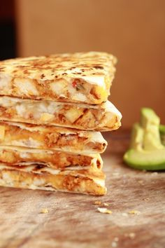 Or so she says...: The Best Quesadillas Ever with Fire Roasted Salsa