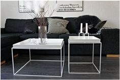 Efst á óskalistanum þessa stundina, HAY Tray Table Hay Tray Table, Table And Chairs, Cool Coffee Tables, Decorating Coffee Tables, Design Tisch, Living Styles, Lounge Areas, Decoration, Living Room Decor