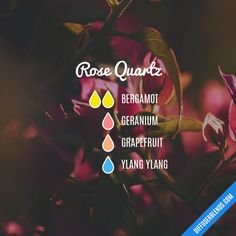 Rose Quartz - Essential Oil Diffuser Blend
