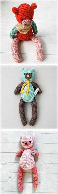Hand Knit Obsession… Simpli Jessi Bears!