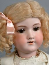 """Pretty Dolly 24"""" Armand Marseille 390 Antique Bisque Doll -- What a Darling!"""