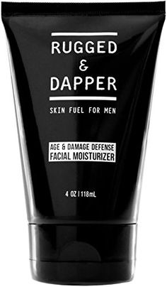New RUGGED & DAPPER Age Defense Face Moisturizer Men, 4 Oz online - Greatstylegreatshop - Care - Skin care , beauty ideas and skin care tips Face Cream For Men, Cream For Oily Skin, Natural Face Moisturizer, Moisturizer For Oily Skin, Gentlemans Club, Anti Aging Facial, Anti Aging Cream, Dry Acne Prone Skin, Dry Skin