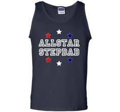 Allstar Stepdad Funny Father's Day Holiday or Gift T-Shirt