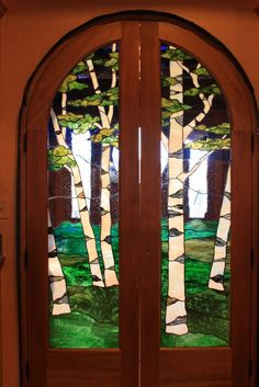 Birch Double Door