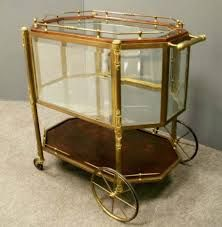 Vintage Bar Cart Products I Love Pinterest Carts And