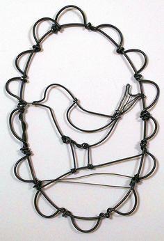 wire-bird-8 by gilhooly studio, via Flickr