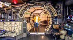 Millennium Falcon TFA Interior