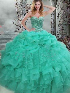 15 Dresses, Cute Dresses, Fashion Dresses, Formal Dresses, Elegant Ball Gowns, Lace Ball Gowns, Turquoise Quinceanera Dresses, Braid Crown, Princess Dresses