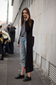 morethanmannequins:Street Style at Milan Fashion Week, February 2015 ✖️