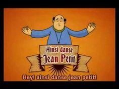 Jean Petit qui danse- Chanson pour apprendre les parties du corps