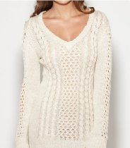 G by GUESS Womens Hetty Tunic Sweater