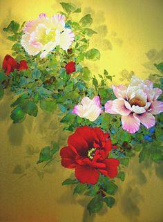 David Lee art-peinture sur soie David Lee, Deco, Animals And Pets, Art Gallery, Photos, Images, Bloom, Culture, Rose