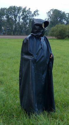 Black Mac, Rain Cape, Wellies Boots, Pvc Vinyl, Rain Wear, Hoods, Raincoat, Winter Parka, Capes