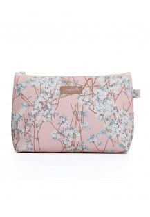 Cosmetic Bag in Cherry Blossom Medium