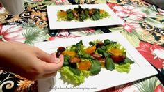 Salade avec des prod