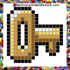 hama beads patrones key