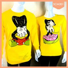 Sweater Couple Mickey Minnie Mouse