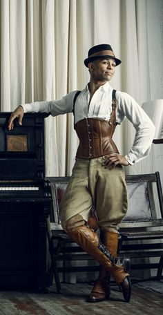 masculine tailored cincher - dark garden [ the first corset line i ever fell in lust with!!]