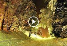 Зимние вечера... и красивая музыка для души в тихой ночи!