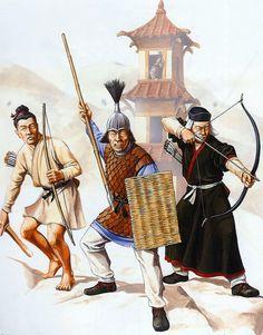 Eastern Han troops, China