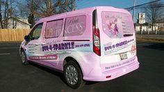 #sparklepinkprincess #pink #sparkle #wrap #vinylwrap #customwrap #carwrap #vehiclewrap