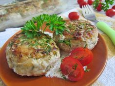Chiftelute din dovlecei, un preparat de post foarte delicios. - Pentru Ea Salmon Burgers, Baked Potato, Mashed Potatoes, Meat, Chicken, Baking, Ethnic Recipes, Food, Whipped Potatoes