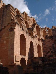 Amphitheatre d'El-Jem, Tunisia.