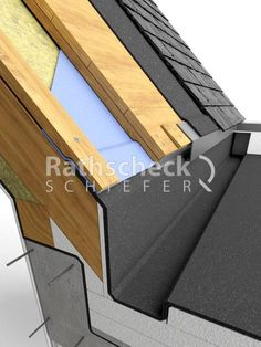 Zinc Cladding, House Cladding, Amazing Architecture, Architecture Details, Roof Extension, Home Fix, Roof Detail, Roof Structure, Garden Office