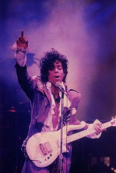 Prince -- This pop star's favorite color is purple. He is best known for the movie and album Purple Rain
