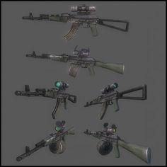 3D Model AK 103 c4d, obj, 3ds, fbx, ma, lwo 63588