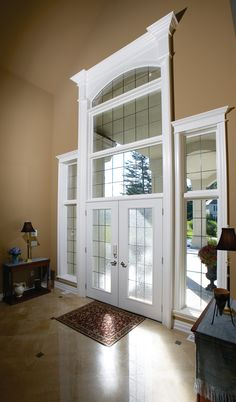 Decorative windows consist of a fixed window in a frame. Try a curved or angled window in combination with other windows or doors in your home! & Pollard Windows \u0026 Doors - Entrance Doors #doors #windows #entrance ...
