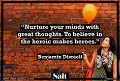 Quote from Benjamin Disraeli