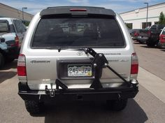 IRBIS Rear tire carrier bumper