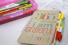 What are you grateful for? Keeping a gratitude journal will help keep you focused on the positive. It's the first of the month, why not get one started today!