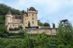 El Château de la Malartrie al final del pueblo de La Roque-Gageac
