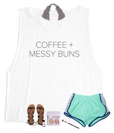 """""""Coffe+Messy Buns✌🏻️"""" by allison-in-wonderland ❤ liked on Polyvore featuring Anastasia Beverly Hills and Billabong"""
